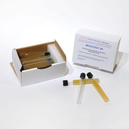 Microtest SR, recherches des bactéries aérobies sulfato-réductrices