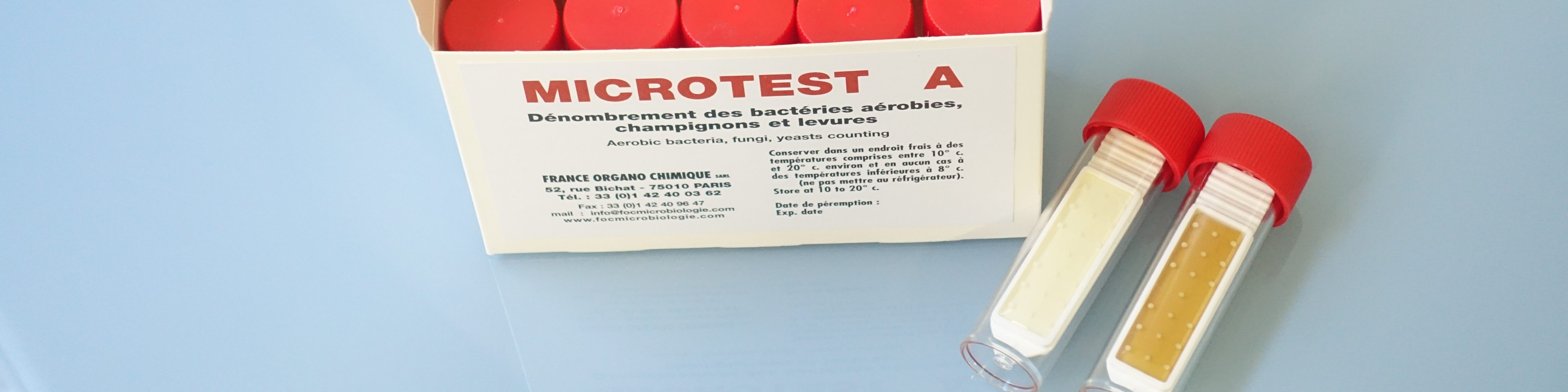 Tests de biocontamination France Organo Chimique