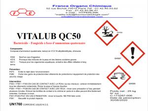 Vitalub QC 50 pour oeuvres d'art, musées, restauration - France Organo Chimique