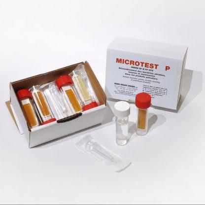 Microtest PMicrotest SR, recherche des bactéries aérobies levures et moisissures dans les produits pétroliers