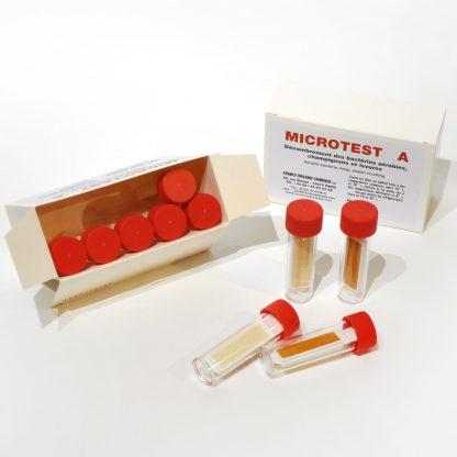 Microtest A - Dénombrement des bactéries aérobies, champignons et levures